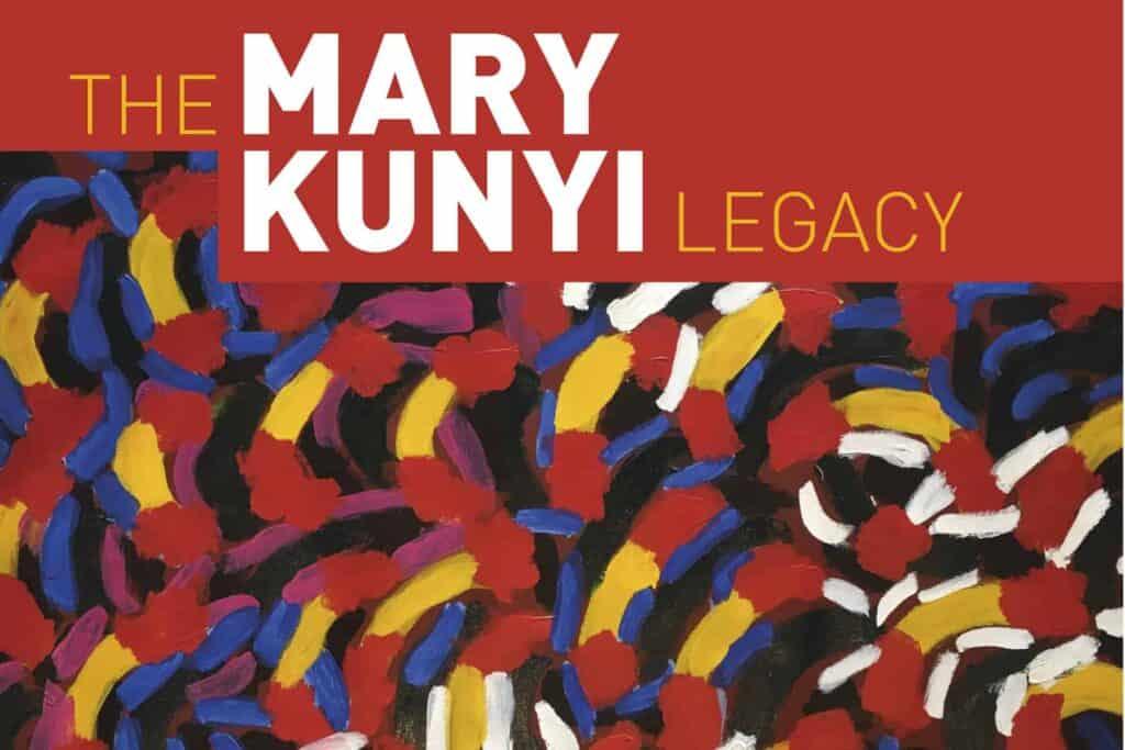 Mary Kunyi exhibition tile